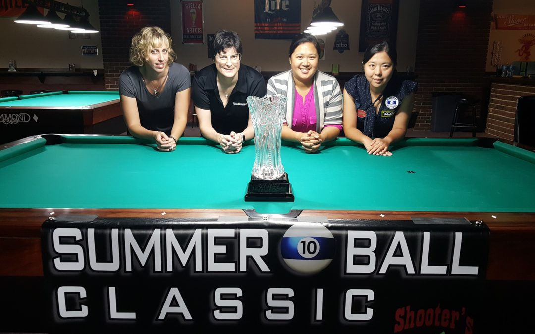 Karen Corr Shines in a Bright Field at the Summer 10 Ball Classic